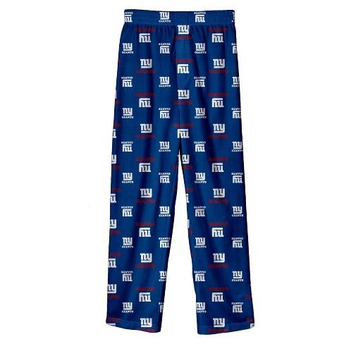 NFL New York Giants Boys' All Over Print Lounge Pants - image 1 of 1
