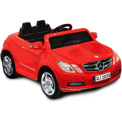 Kid Motorz 6V Mercedes Benz E550 One Seater Powered Ride-On - Red