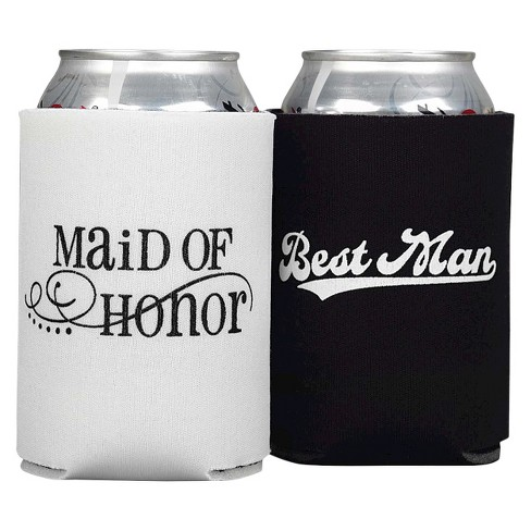 Maid Of Honor And Best Man Can Coolers - image 1 of 1
