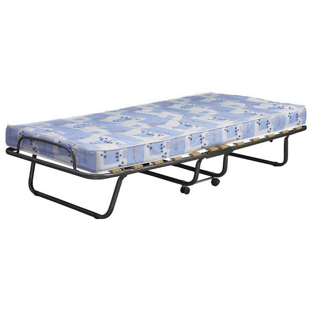 Roma Folding Bed Twin Blue - Linon