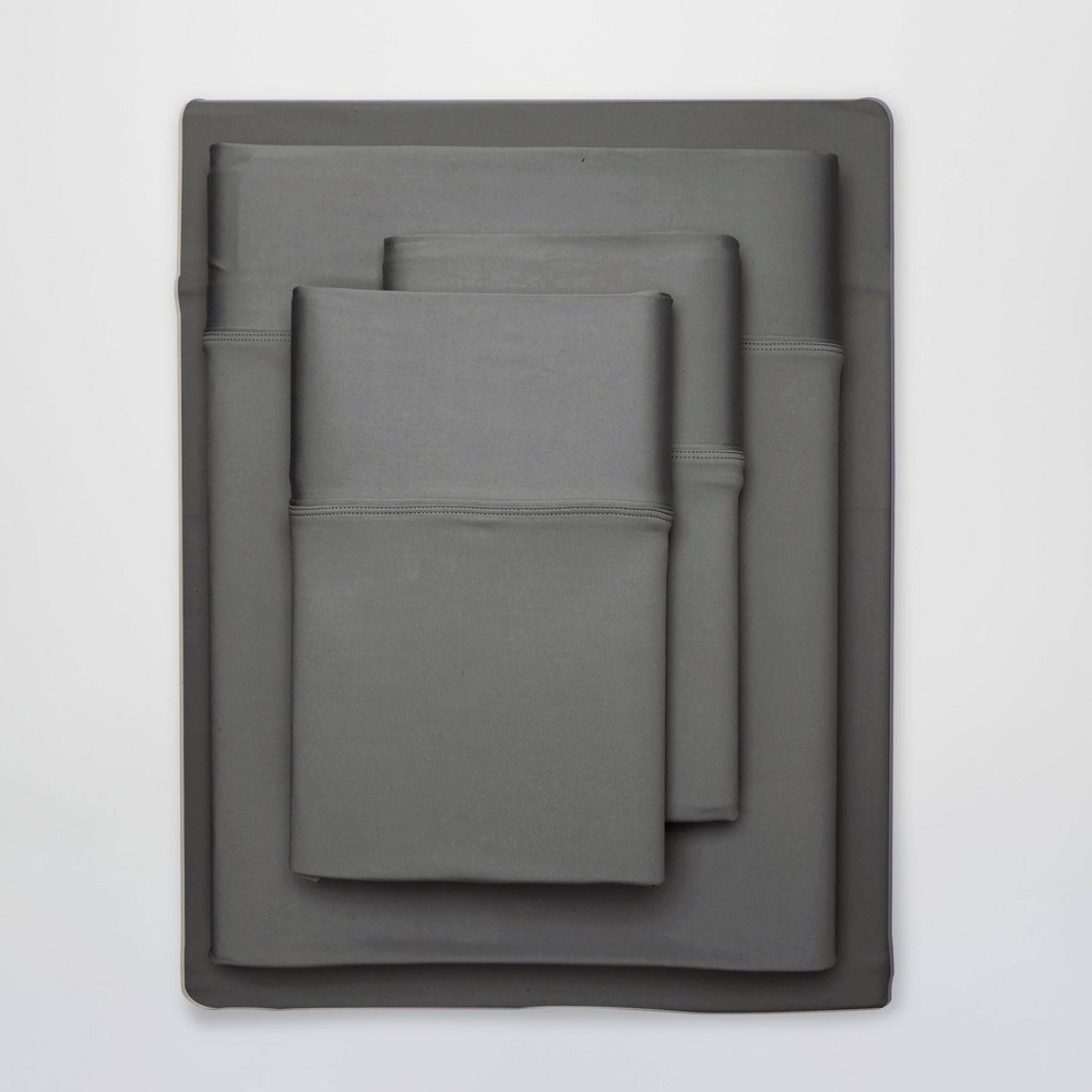Image of Full Ultra Air Solid Sheet Set Graphite - SHEEX