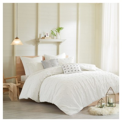 Ivory Kay Duvet Set (King/California King)