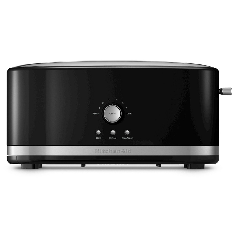 KitchenAid 4-Slice Long Slot Toaster with High Lift Lever – KMT4116, Black 50286123