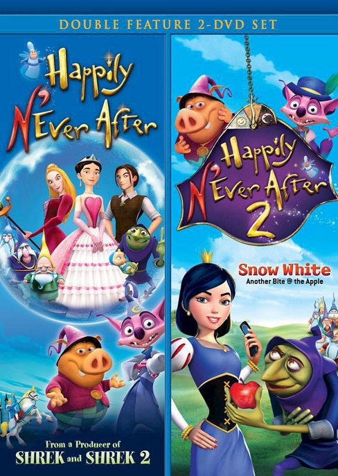 Happily N'Ever After/Happily N'Ever After 2 Double Feature (2 Discs) (dvd_video) - image 1 of 1