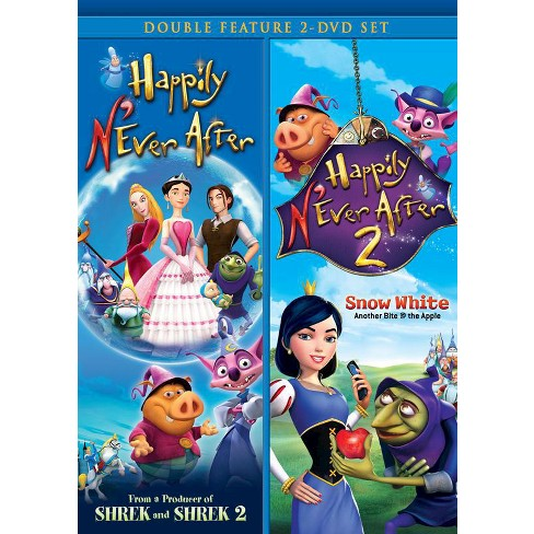 Happily N'Ever After/Happily N'Ever After 2 Double Feature (2 Discs) (DVD) - image 1 of 1