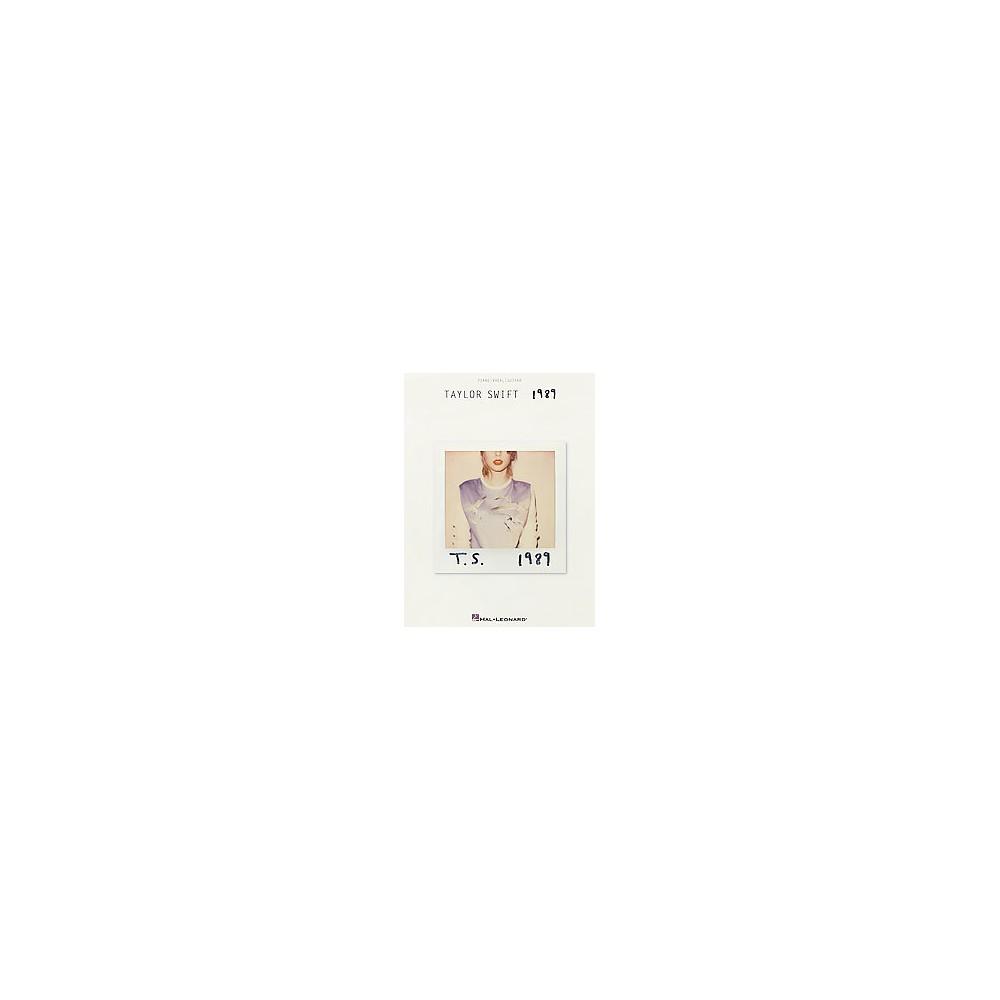 1989 : Piano, Vocal, Guitar (Paperback)