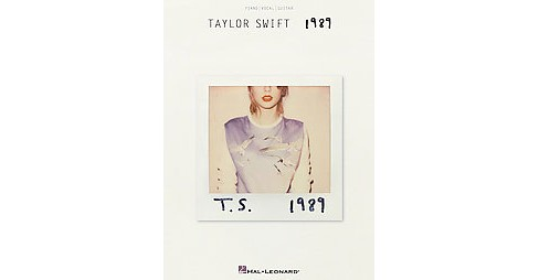 1989 : Piano, Vocal, Guitar (Paperback) - image 1 of 1