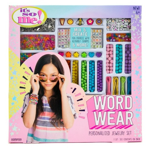 Word Wear Personalized Jewelry Making Set - It's So Me! - image 1 of 4