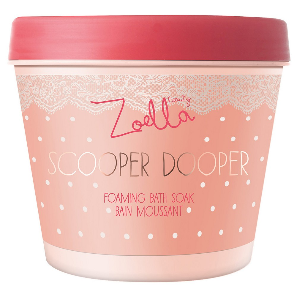 Zoella Beauty Scooper Dooper Bain Moussant Foaming Bath Soak 13.4 oz