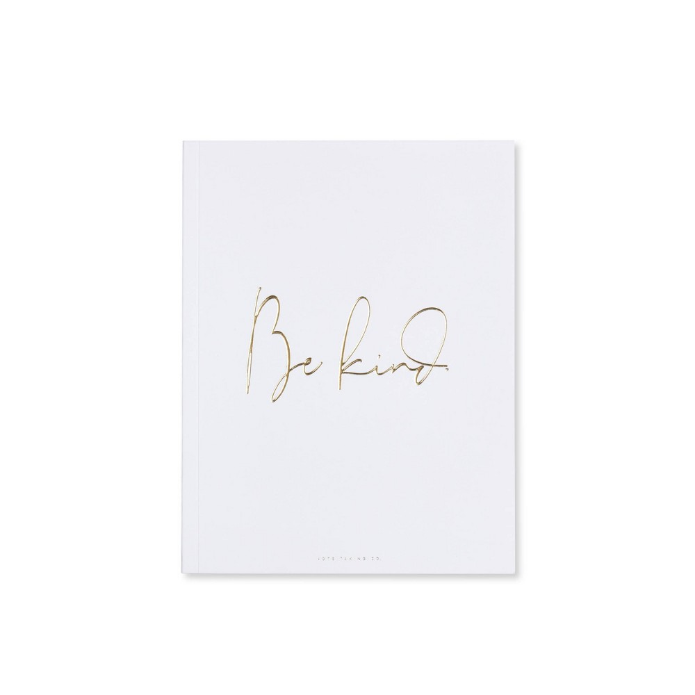 Image of Special Lined Be Kind Composition Notebook White- West Emory