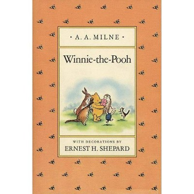 Winnie-The-Pooh - by A A Milne (Hardcover)