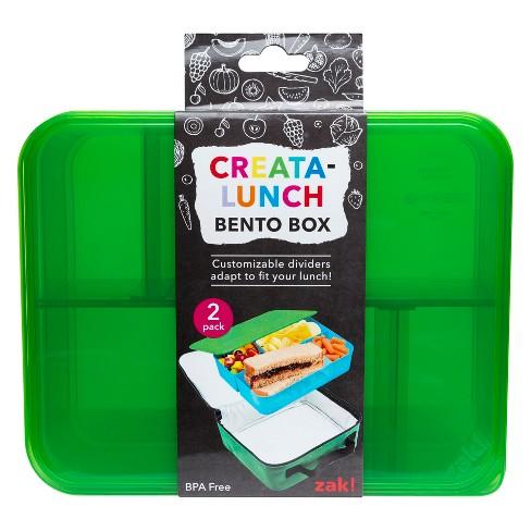 Bento Lunch Kit 2pk - Zak Designs - image 1 of 4