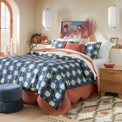 Zanobi Bed in a Bag Comforter & Sheets Set Chain Print - Opalhouse™ designed with Jungalow™