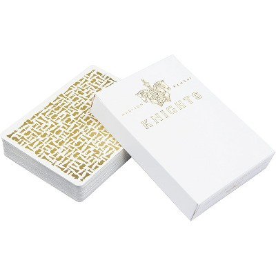 Ellusionist White Knights Playing Cards Deck
