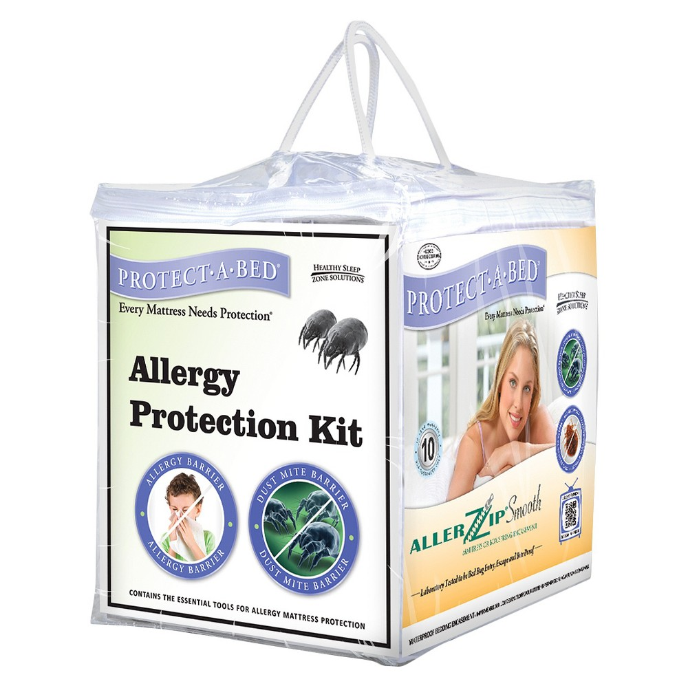 Protect-A-Bed Ultimate Allergy/Bed Bug Protection Kit - Twin