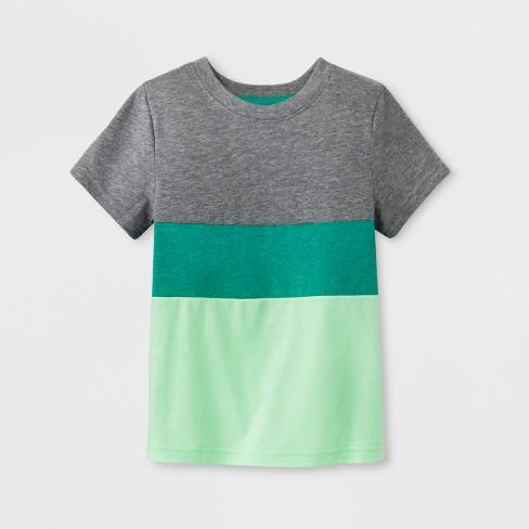 75f23c806f Toddler Boys' Colorblock Short Sleeve T-Shirt - Cat & Jack™ : Target
