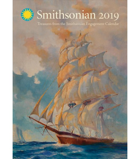 Treasures from the Smithsonian 2019 Calendar -  (Paperback) - image 1 of 1