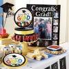 "Fractal Fun Graduation 7"" Dessert Plates - 8ct - image 2 of 2"