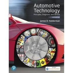 Automotive Technology - 6 Edition by  James D Halderman (Hardcover)