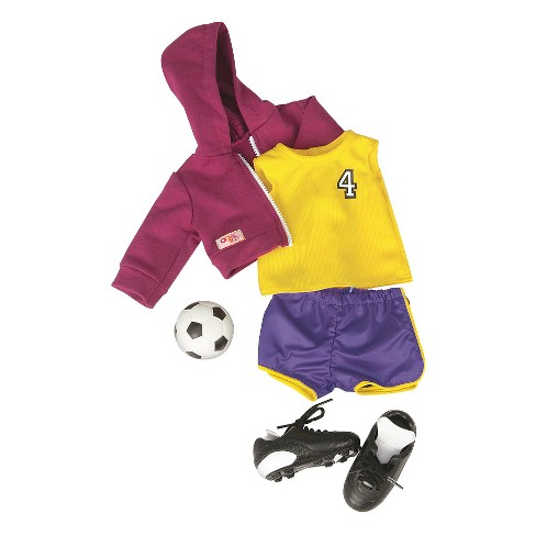 "Our Generation Soccer Outfit for 18"" Dolls - Team Player - image 1 of 3"