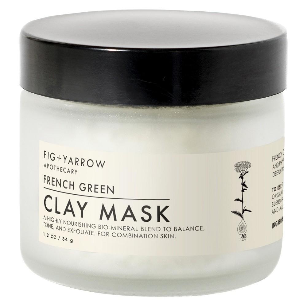 Fig+yarrow French Green Clay Mask - 1.2oz