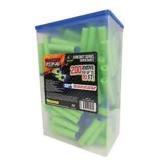 Dart Zone Covert Ops 200ct Dart Refill Box - Universal Compatible Darts