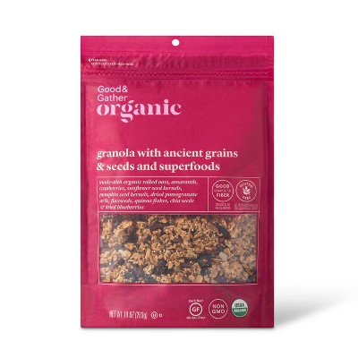 Ancient Grains & Seeds Granola with Superfoods - 10oz - Good & Gather™
