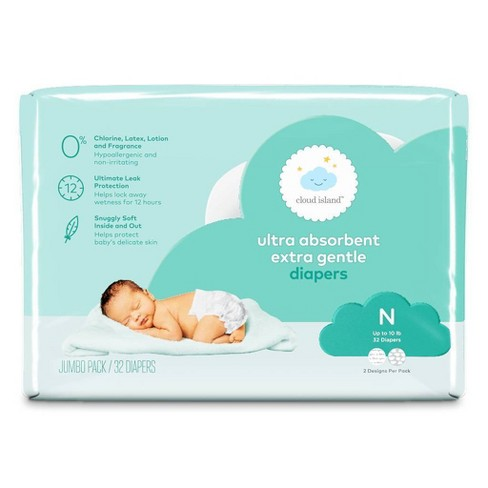 Ultra Absorbent Diapers - Cloud Island™ - (Select Size and Count) - image 1 of 4