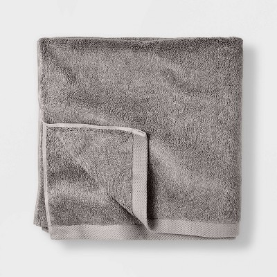 Organic Bath Sheet Gray - Casaluna™