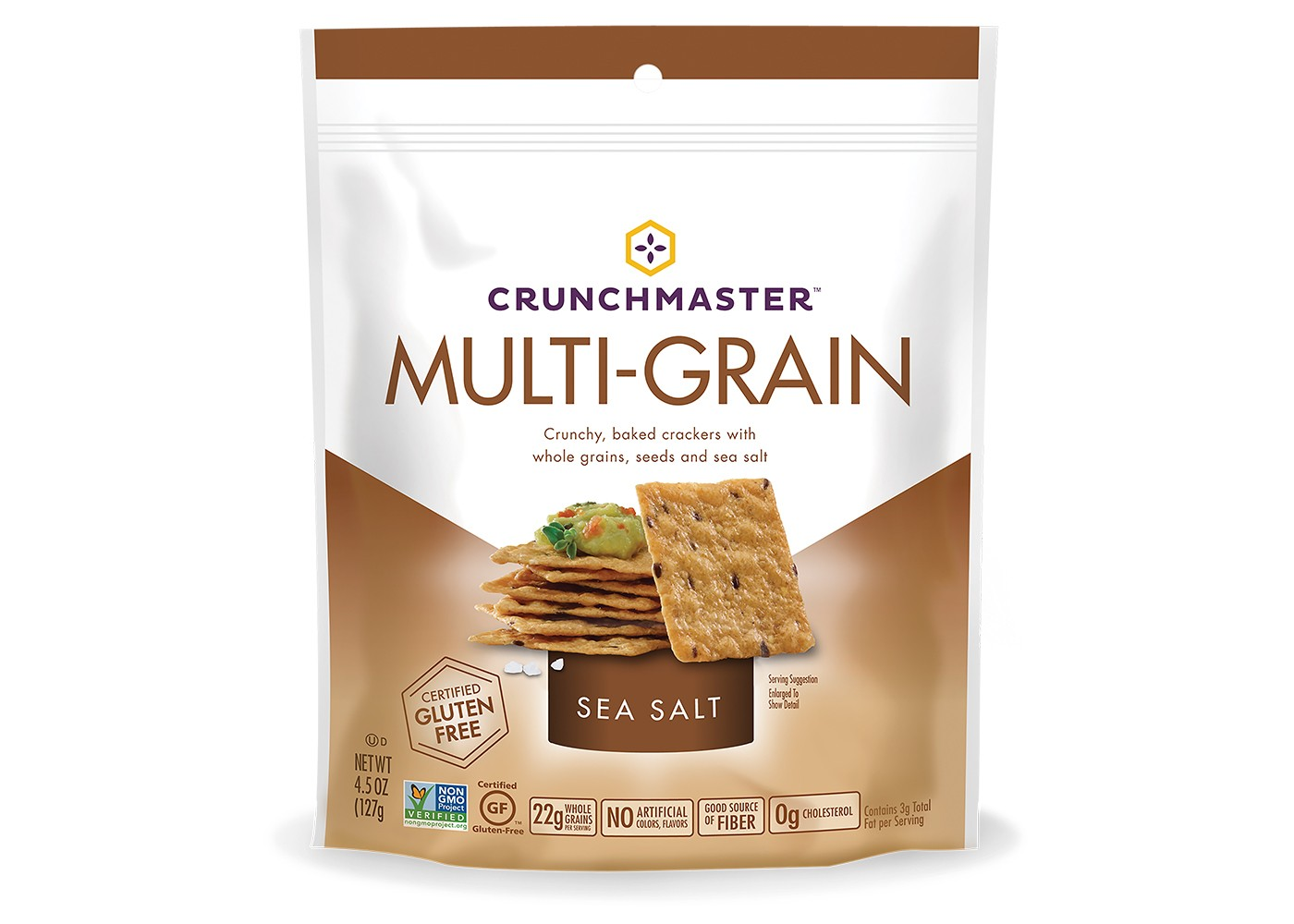Crunchmaster Multi-Grain Sea Salt Crackers 4.5oz - image 1 of 1