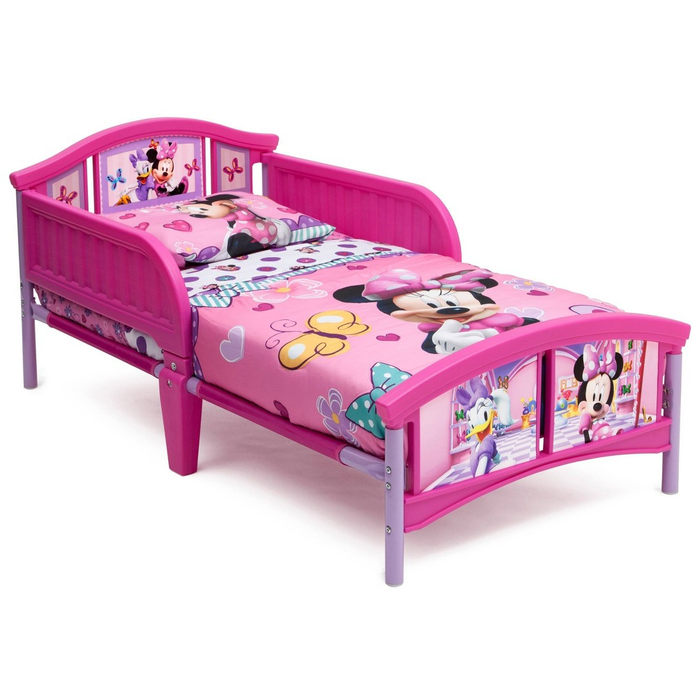 Image of Toddler Disney Minnie Mouse Bed - Delta Children