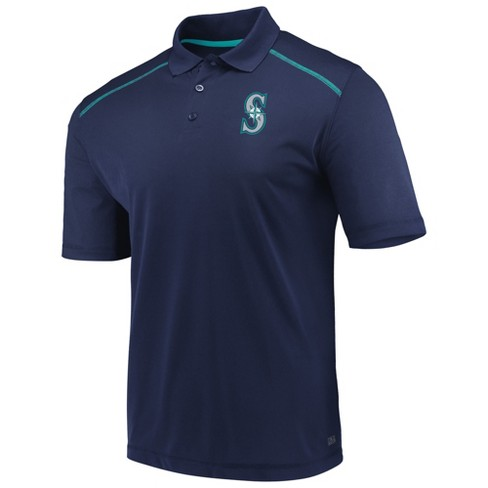 MLB Seattle Mariners Men's Fan Engagement Polo Shirt - image 1 of 3