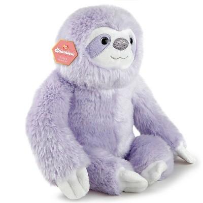 FAO Schwarz Sparklers Toy Glitter Plush - Sloth