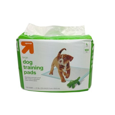 Puppy and Adult Dog Training Pads - L - 100ct - Up&Up™