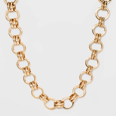 Metal Chain Link Necklace - A New Day™