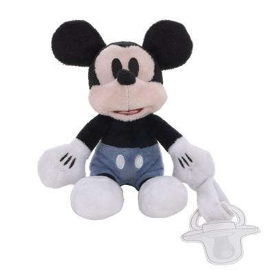 Disney Mickey Pacifier Buddy Stuffed Animal