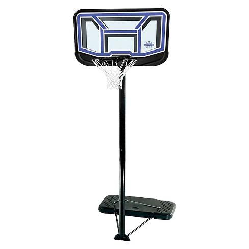 "Lifetime Stream Line 44"" Portable Basketball Hoop - image 1 of 4"