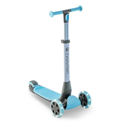 Y-Volution Y Glider NUA 3 Wheel Kick Scooter with LED lights