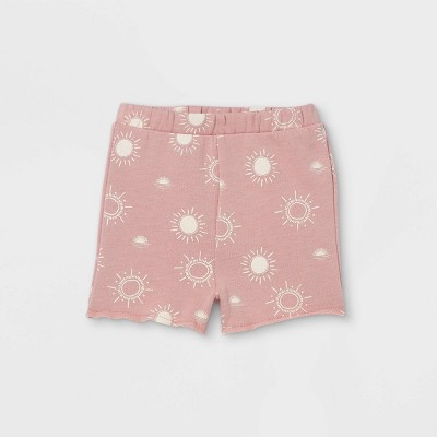 Toddler Girls' 'Sun' Pull-On Shorts - art class™ Light Purple