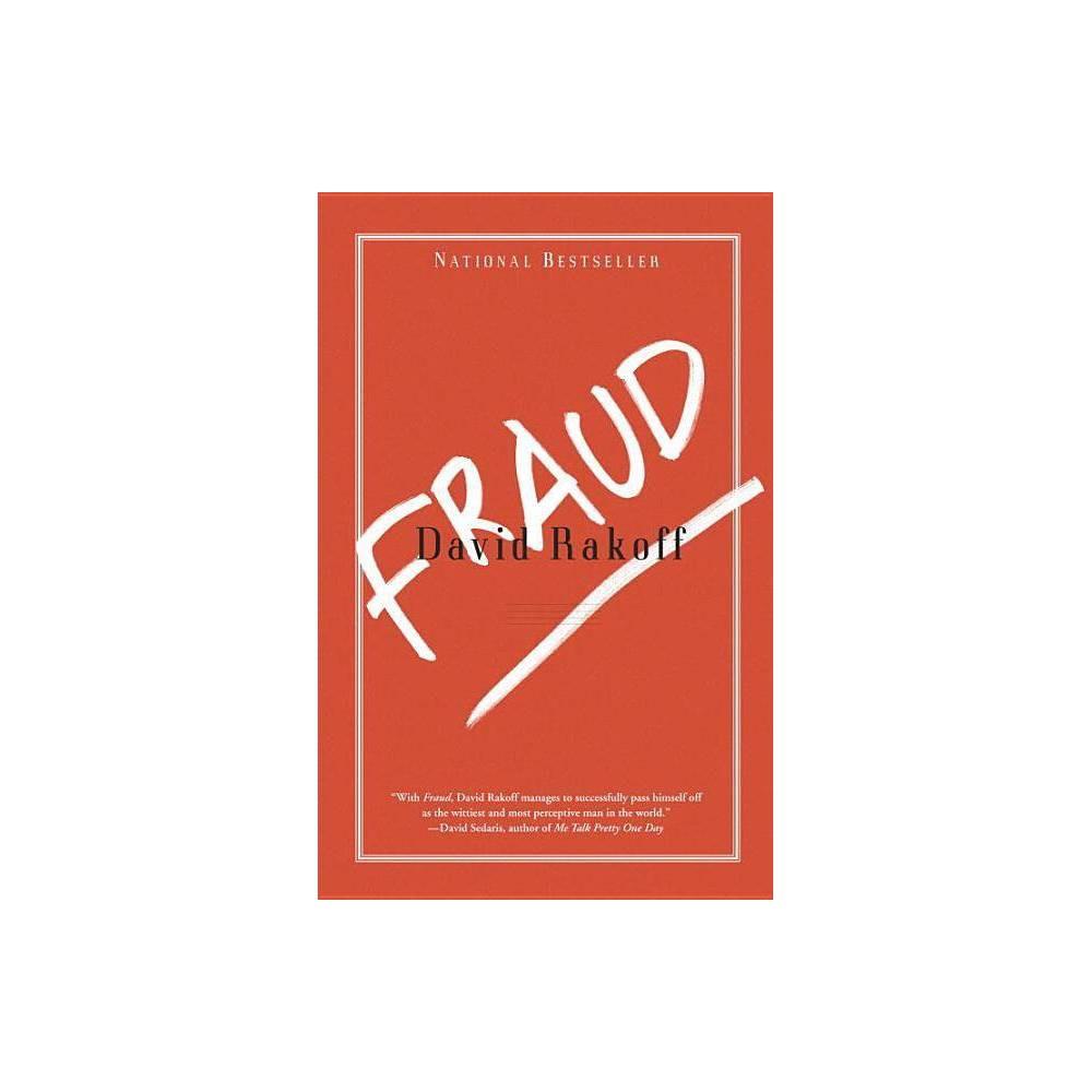 Fraud By David Rakoff Paperback