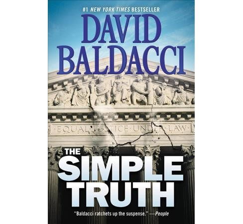 Simple Truth -  Reprint by David Baldacci (Paperback) - image 1 of 1