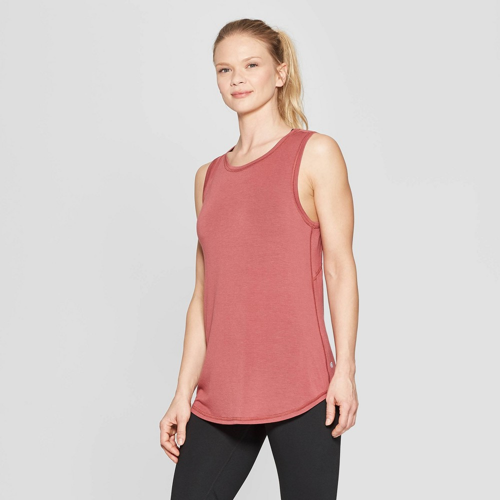 Women's Active Tank Top - C9 Champion Brick Red XS