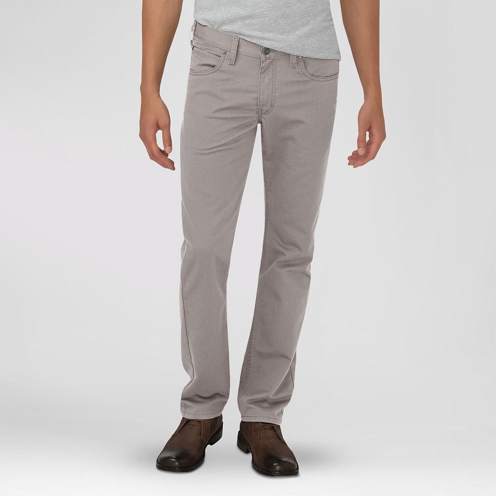 Dickies Men's Slim Fit 5-Pocket Pants Silver 30X30, Light Silver