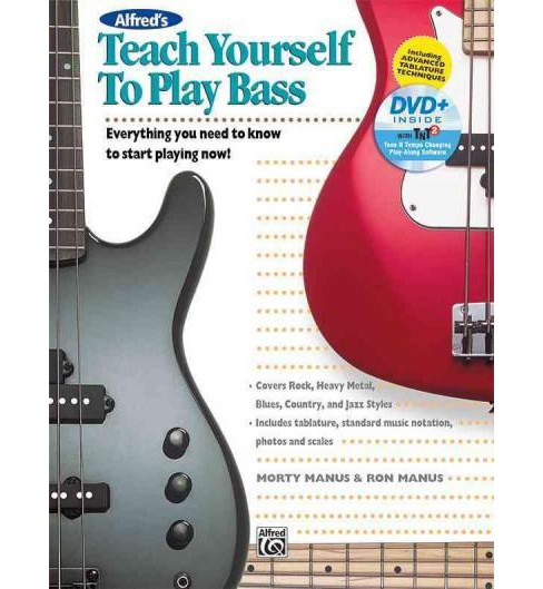 Alfred's Teach Yourself to Play Bass : Everything You Need to Know to Start Playing Now! -  (Paperback) - image 1 of 1