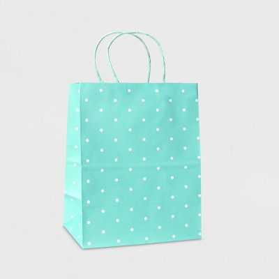 Small Dot Print Bag Mint - Spritz™