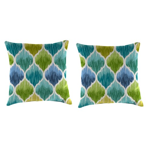 Outdoor Set Of 2 Accessory Toss Pillows In Denali Caribbean - Jordan Manufacturing - image 1 of 1