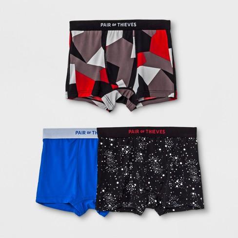 purchase cheap eee3a e08b4 Pair of Thieves Boys' 3pk Superfit Boxer Briefs
