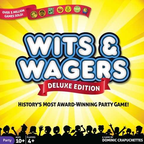 Wits & Wagers Deluxe Edition Game - image 1 of 3