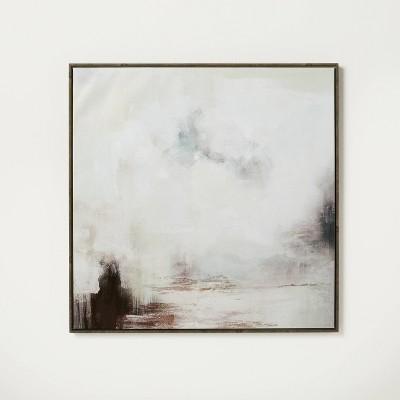 "30"" x 30"" Wonderous Framed Canvas - Threshold™ designed with Studio McGee"