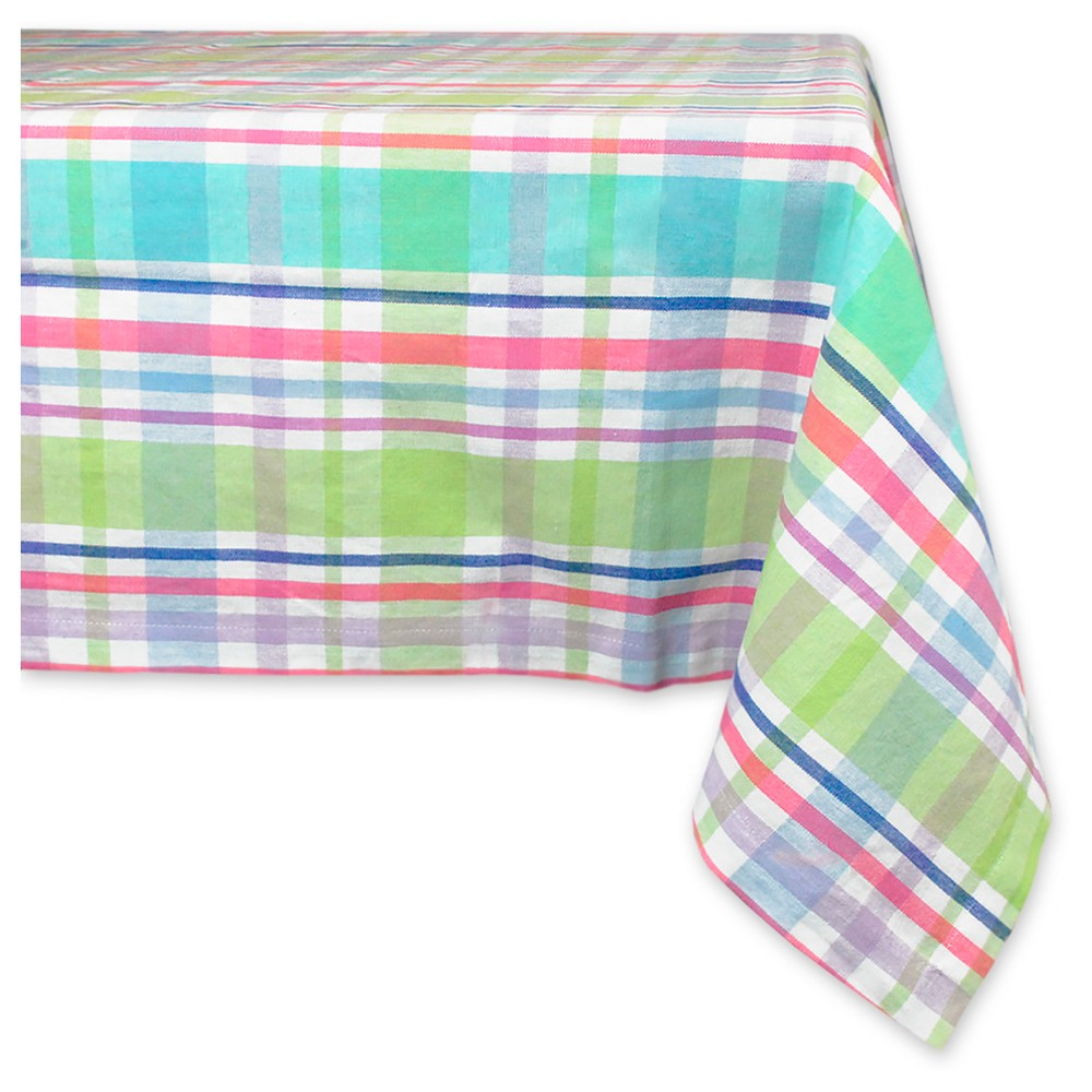 Spring Plaid Tablecloth - Design Imports